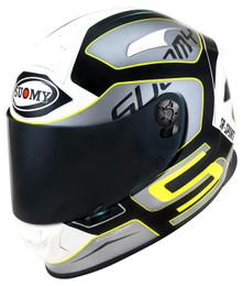 Suomy SR Sport Axial Yellow Helmet