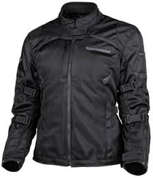 Tour Master Intake Air V6 Black Womens Jacket
