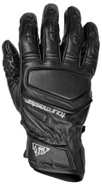 Tour Master Elite Black Leather Gloves
