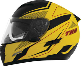THH TS-80 FXX Yellow Black Helmet