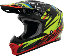 THH T710X Assault Yellow Red Helmet