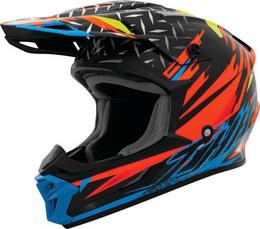 THH T710X Assault Black Orange Helmet