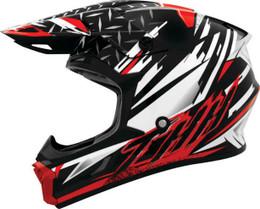 THH T710X Assault White Red Helmet