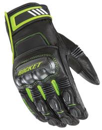 Joe Rocket Highside Gloves Black Hi-Viz