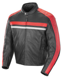 Joe Rocket Old School 2.0 Jacket Black Red
