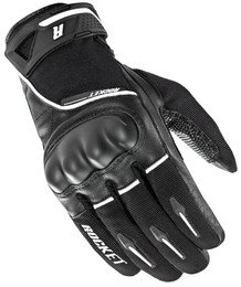 Joe Rocket Super Moto Gloves Black / White Mens