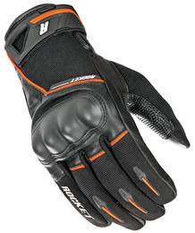 Joe Rocket Super Moto Gloves Black / Orange Mens