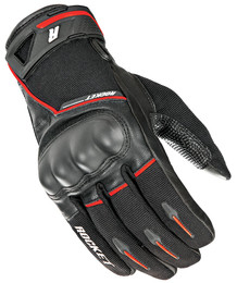 Joe Rocket Super Moto Gloves Black / Red Mens
