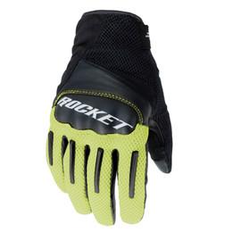 Joe Rocket Optic Hi-Viz Black Gloves