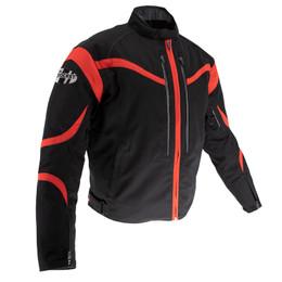 Joe Rocket Crossfire Black Red Jacket