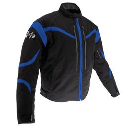 Joe Rocket Crossfire Black Blue Jacket