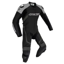 Joe Rocket Speedmaster 7 Black Grey 1-piece Race Suit