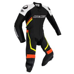 Joe Rocket Speedmaster 7 Black Hi-Viz 1-piece Race Suit