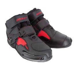 Joe Rocket Sector Black Red Boot