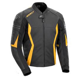 Joe Rocket GPX Black Yellow Jacket