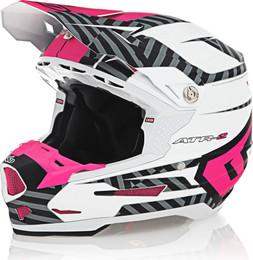 6D ATR-2 Havoc Neon Pink White Helmet