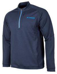 Klim Teton Merino Wool 1/4 Zip Navy Blue