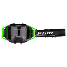 Klim Viper Pro Off-Road Goggle Ascent Electrik Gecko Smoke Tint and Clear size OS
