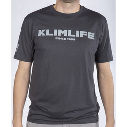 Klim Life SS T Charcoal Gray
