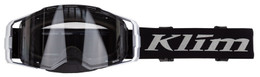 Klim Edge Off-Road Goggle Focus Metallic Silver Clear Lens size OS