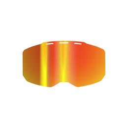 Klim Edge Lens Smoke Red Mirror
