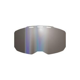 Klim Edge Lens Dark Smoke Silver Mirror