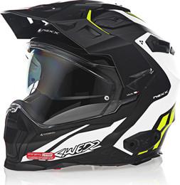 Nexx XWED 2 Carbon Vaal Matte White Neon Yellow Helmet