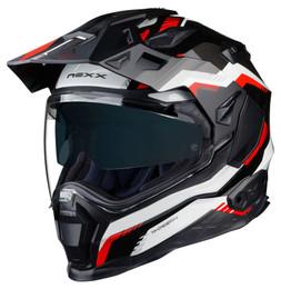 Nexx XWED 2 Columbus Grey Red Black Helmet