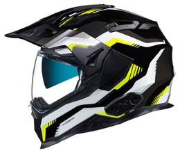 Nexx XWED 2 Columbus Grey Yellow Black Helmet
