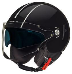 Nexx SX60 Royale Black Silver Helmet