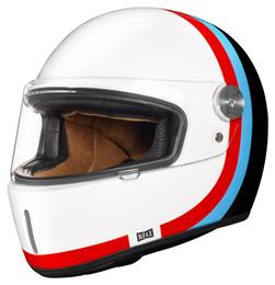Nexx XG100R Speedway White Blue Red Helmet