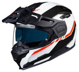Nexx X-Vilijord Continental White Black Red Helmet