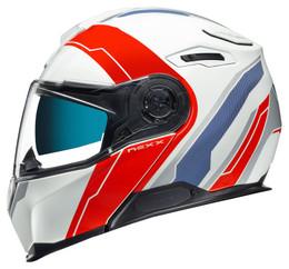 Nexx X-Vilitur Meridian Matte White Red Helmet