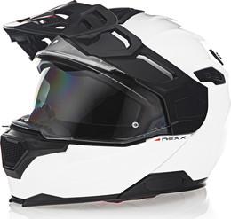 Nexx X-Vilijord Solid White Helmet