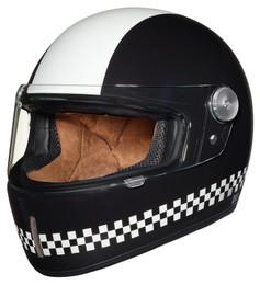 Nexx XG100R Finish Line Black White Helmet
