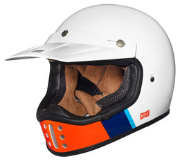Nexx XG200 Fanatic White Red Helmet