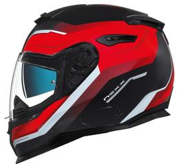 Nexx SX100 Mantik Black Red Helmet