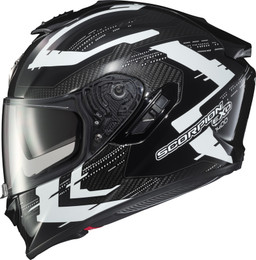 Scorpion Exo-ST1400 Carbon Caffeine Helmet White