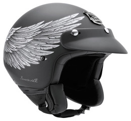 Nexx SX60 Eagle Rider Black Helmet