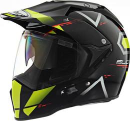 Suomy MX Tourer Road Yellow Helmet