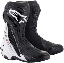 Alpinestars Supertech R v2 Black White Boots