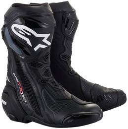 Alpinestars Supertech R v2 Black Vented Boots