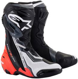 Alpinestars Supertech R v2 Black Red Vented Boots