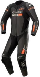Alpinestars GP Force Chaser Black Red Flouro 1Pc Suit