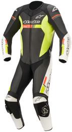 Alpinestars GP Force Chaser Black White Red Flouro Yellow 1Pc Suit