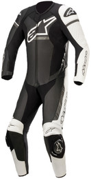 Alpinestars GP Force Phantom Black White Metallic Gray 1Pc Suit