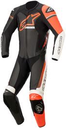 Alpinestars GP Force Phantom Black White Red Flouro 1Pc Suit