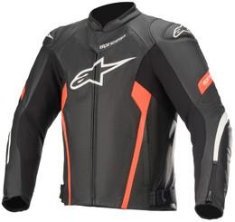 Alpinestars Faster Airflow V2 Black White Red Flouro Light Jacket