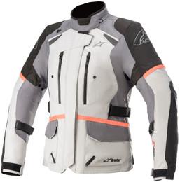 Alpinestars Stella Andes v3 Gray Black Coral Jacket