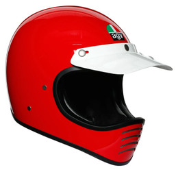 AGV X101 Red Helmet